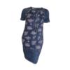 Kép 2/4 - agatare virágos kötős ruha