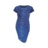 Kép 4/4 - Agatare kockás elejű ruha