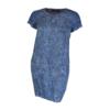 Kép 2/4 - agatare vékony levélmintás ruha