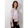 Kép 5/6 - lafei nier rózsaszín feliratos póló
