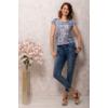 Kép 3/4 - Lafei Nier absztakt mintás póló