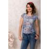Kép 1/4 - lafei nier absztrakt mintás póló