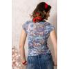 Kép 4/4 - Lafei Nier absztakt mintás póló