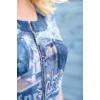 Kép 14/22 - Lafei Nier vidám - vékony kék blúz