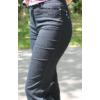 Kép 2/3 - Lafei Nier vékony alap díszítésű fekete farmernadrág