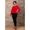 Kép 2/8 - Lafei Nier - Rayon félig nyomott mintás női nadrág