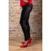 Kép 3/8 - Lafei Nier - Rayon félig nyomott mintás női nadrág