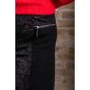 Kép 8/8 - Lafei Nier - Rayon félig nyomott mintás női nadrág