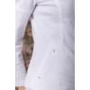Kép 5/6 - lafei nier kétzippes fehér farmer blézer