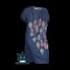 Kép 1/4 - Lafei Nier lampionos vékony nyári ruha