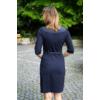 Kép 2/3 - Lafei Nier rayon aprókockás csatos ruha