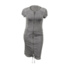 Kép 1/4 - lafei nier anyagában hímzett farmer ruha