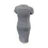 Kép 3/4 - Lafei Nier anyagában hímzett ruha