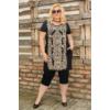 Kép 1/5 - Lafei Nier vékony nyári,  mintás tunika - ruha