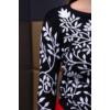 Kép 9/11 - Fekete - fehér nagyvirágmintás cashmere pulover