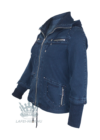 Lafei Nier kötött ujjú svéd zsebes kabát