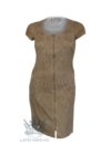 Lafei Nier mogyoró színű hímzett ruha