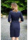 Lafei Nier rayon aprókockás csatos ruha