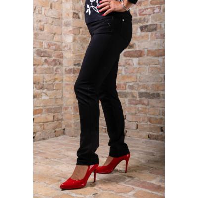 Lafei Nier - Rayon szűkülő szárú fekete nadrág