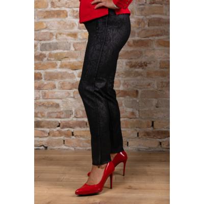Lafei Nier - Rayon nyomott mintás női nadrág