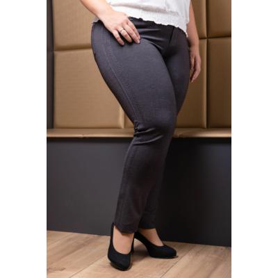 Lafei Nier Rayon duplavarrásos szürke nadrág