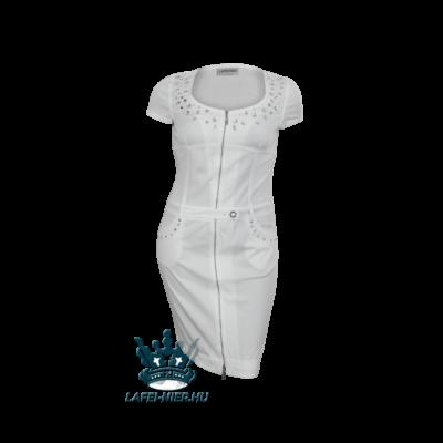 lafei nier fehér köves ruha