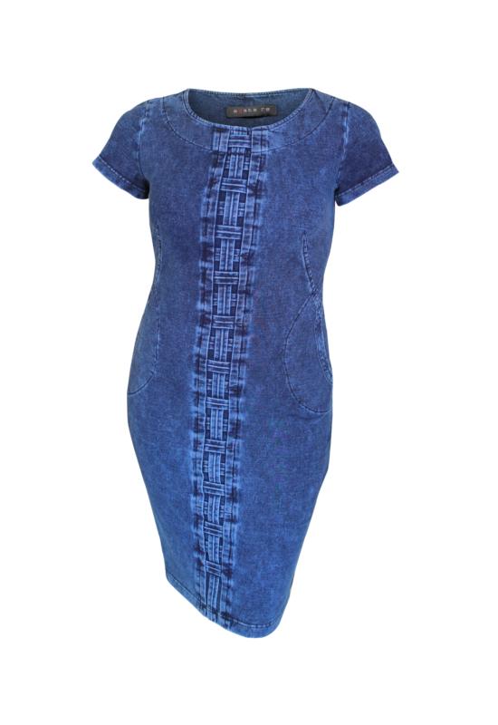 Agatare kockás elejű ruha