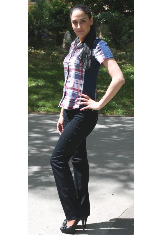 Lafei Nier vékony alap díszítésű nadrág