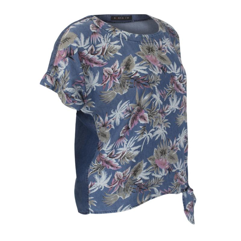 Agatare nagyvirágos póló