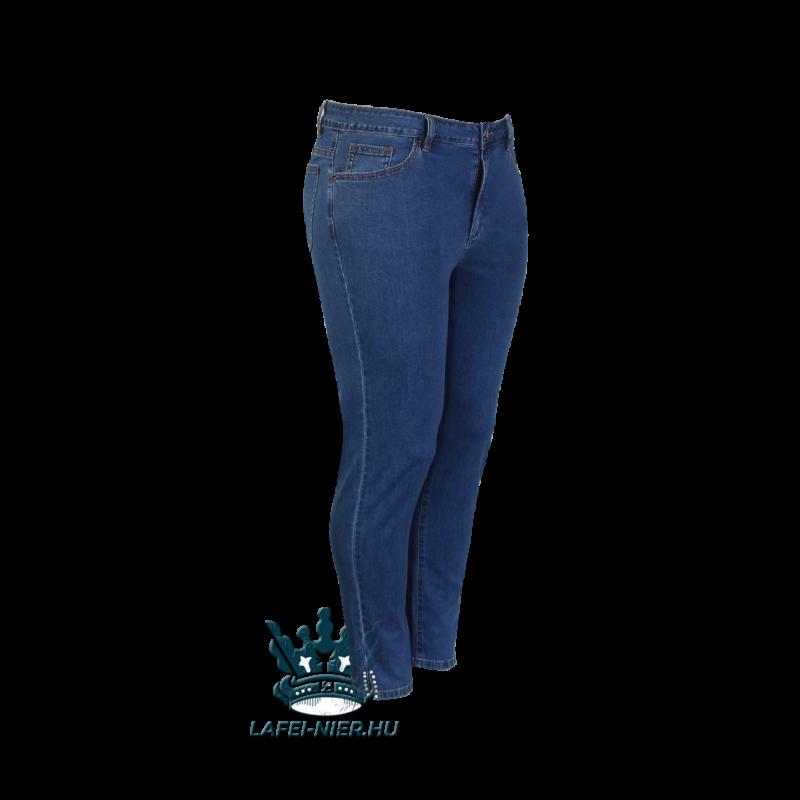Lafei Nier alul gyöngyös, vékony kék farmernadrág