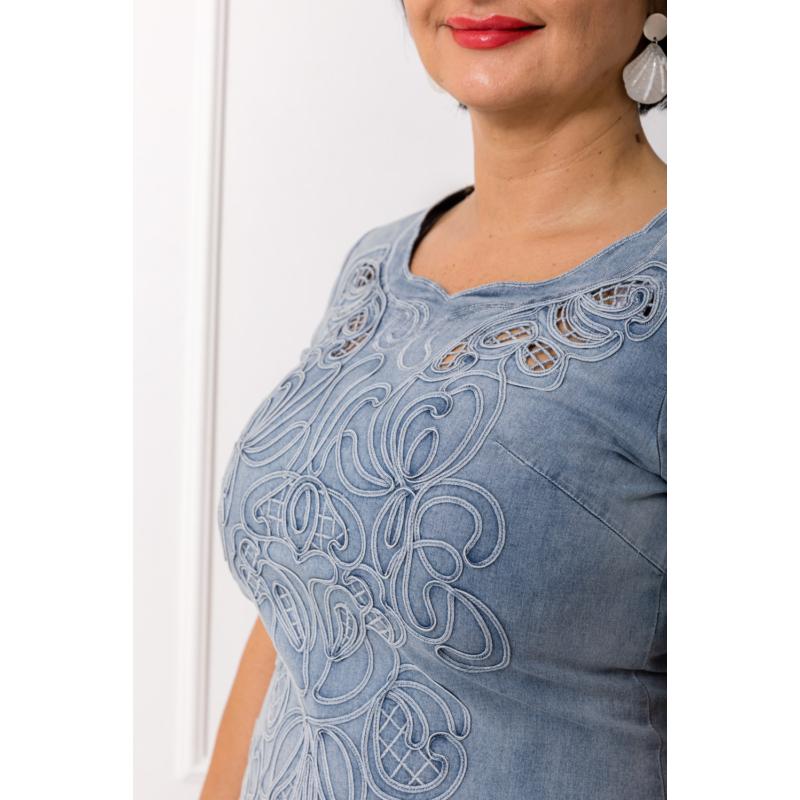 Lafei Nier teljesen hímzett farmer ruha