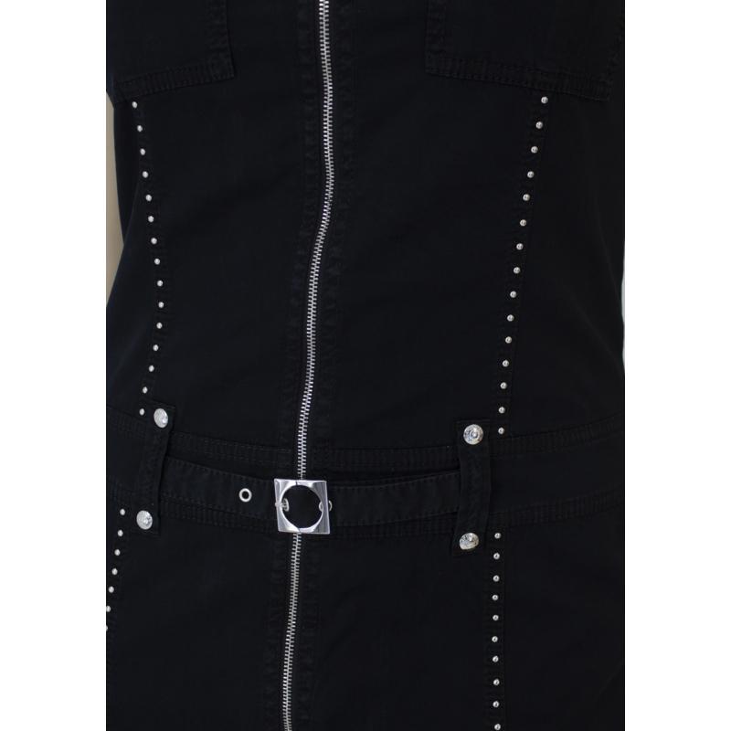 Lafei Nier patentos fekete ruha