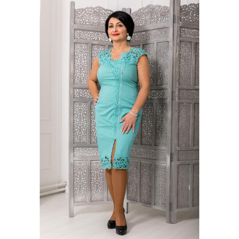 Lafei Nier türkiz csipke ruha